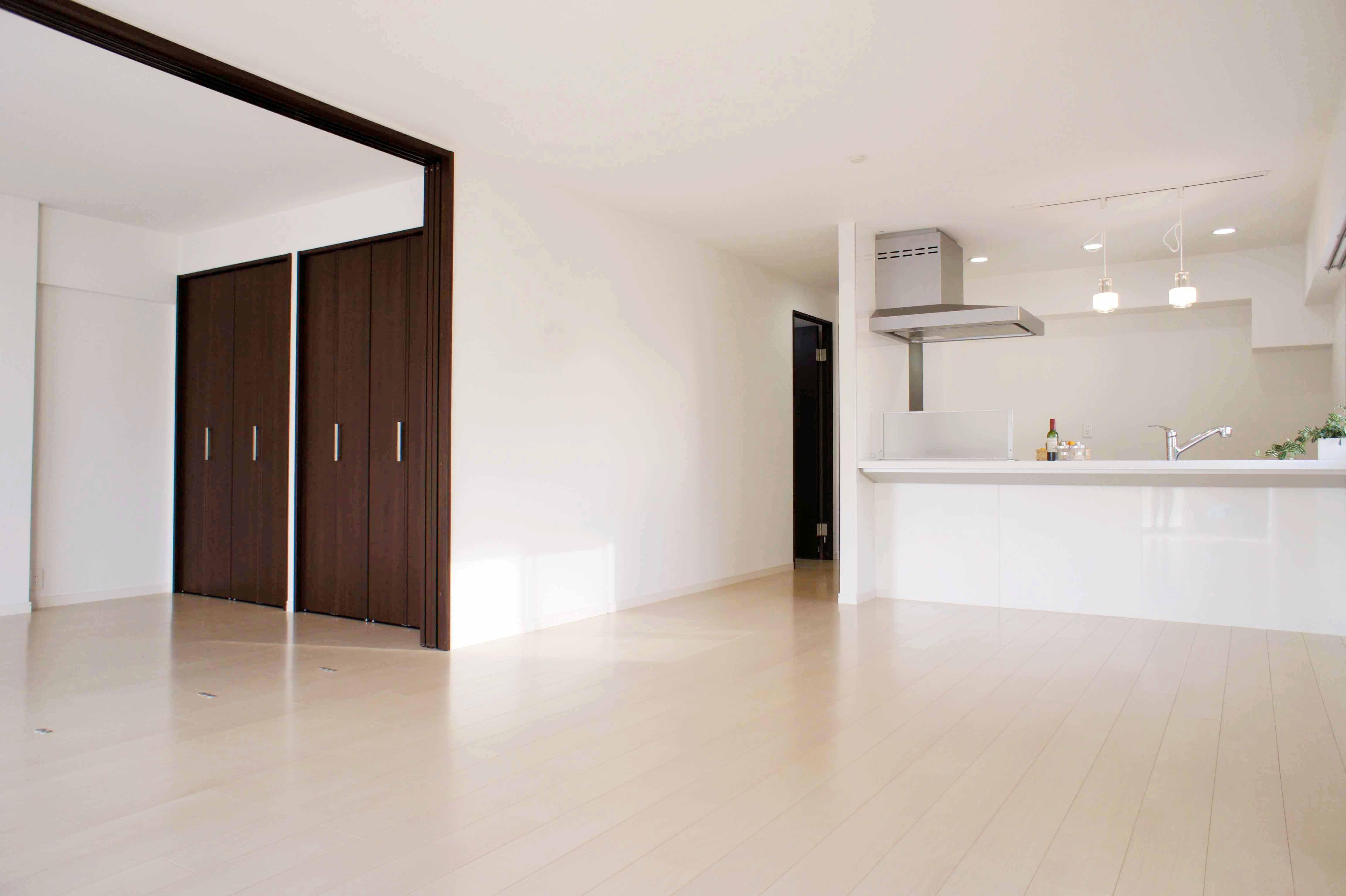 マンションリノベーション・築40年 明るく開放的な住まいに。