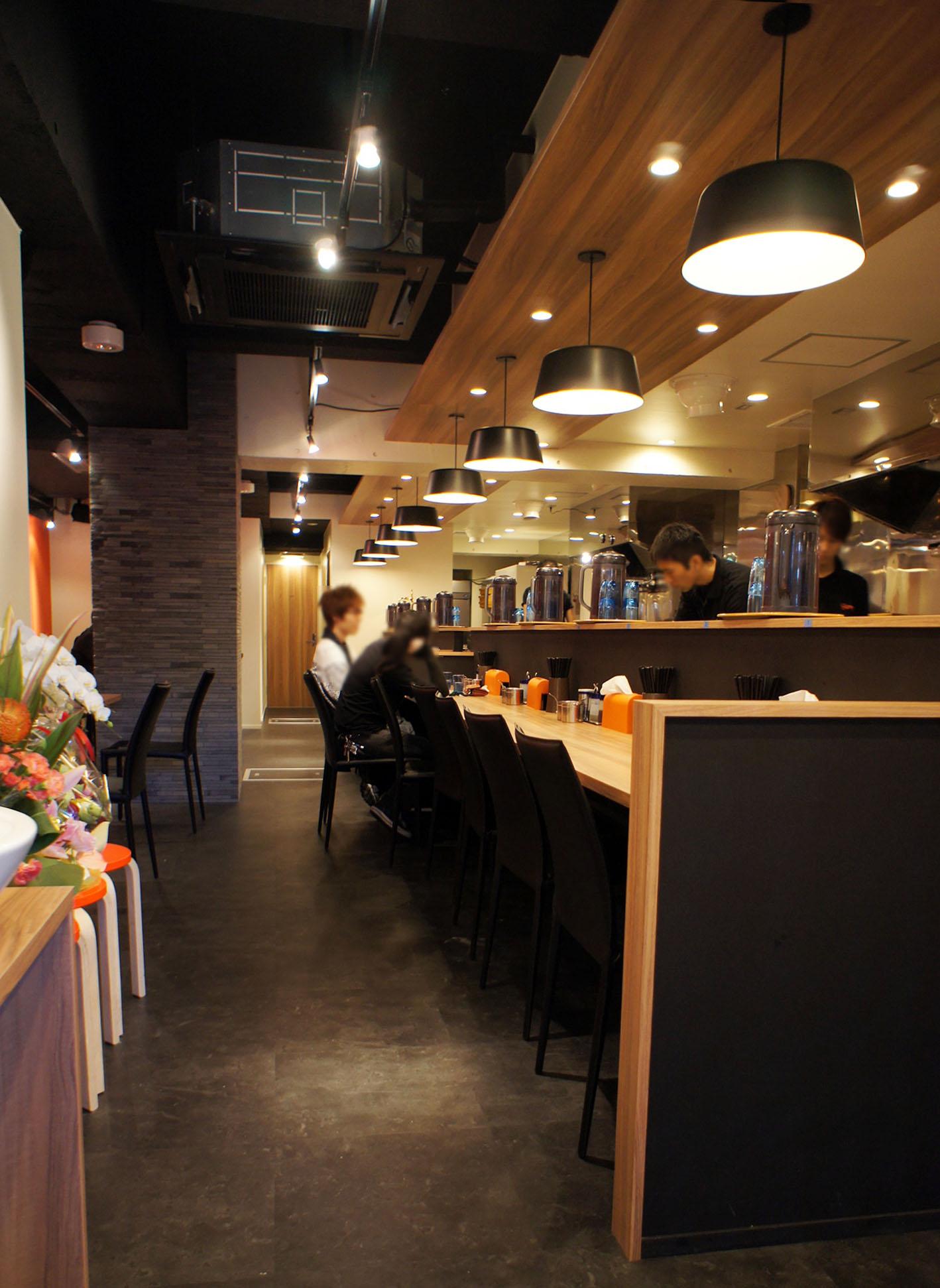 カフェ風ラーメン店・コンバージョン